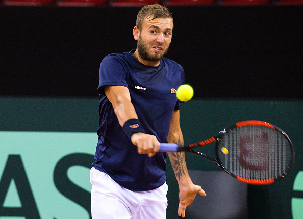 Dan Evans will be hoping to pull off an upset (Photo: LTA)