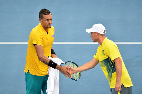 Nick Kyrgios fires Austrailia into semi-finals of Davis Cup