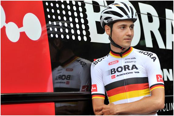 Emanuel Buchmann durante el Tour de Francia   Fuente: Tour de Francia