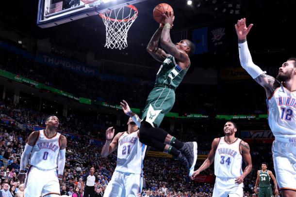 Bledsoe no tuvo su mejor noche y erró en el momento menos indicado | Foto: nba.com/bucks vía Getty Images