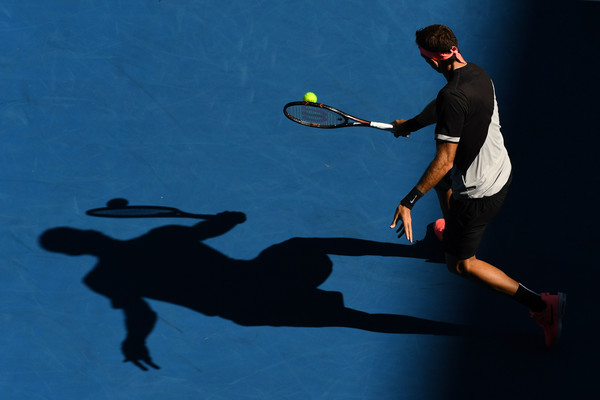 The 29-year-old was able to steady himself after a disappointing third set (Quinn Rooney/Getty Images AsiaPac)