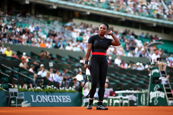 Williams is also playing doubles with her sister, Venus, in Paris (Image source: Cameron Spencer/Getty Images Europe)