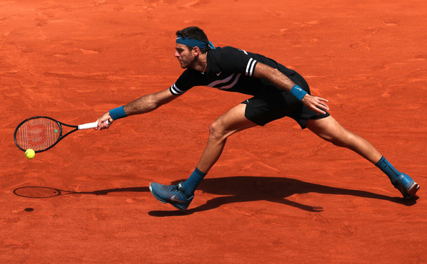 del Potro won only two matches on clay this year prior to the French Open (Image source: Matthew Stockman/Getty Images Europe)