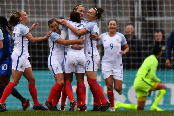 England ran riot against France | Source: Jamie Sabau-Getty Images North America