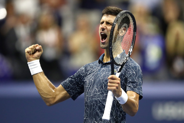 Djokovic will contest his eighth US Open final on Sunday, owning a 2-5 record previously   Photo: Julian Finney/Getty Images North America