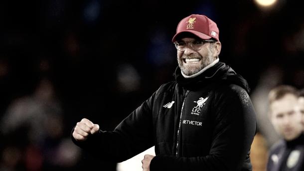 Klopp quiere ser el que le ponga un freno a Guardiola | Foto: Premier League