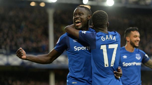 Niasse marcó el segundo y asistió en el primero | Foto: Premier League.