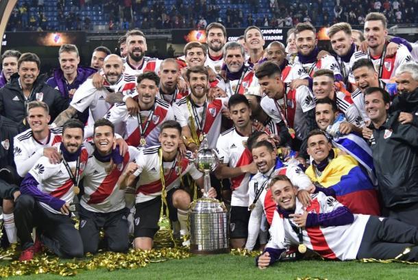FOTO: El título más importante de la década. Copa Libertadores 2018.