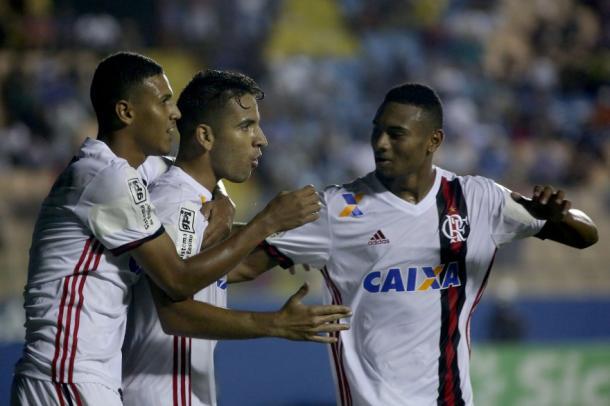 Flamengo avançou em primeiro lugar na chave (Foto: Staff Images/Flamengo)