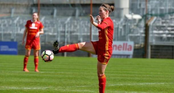 Flavuie Lemaitre continues to be Rodez' best player | Source: La Dépêche