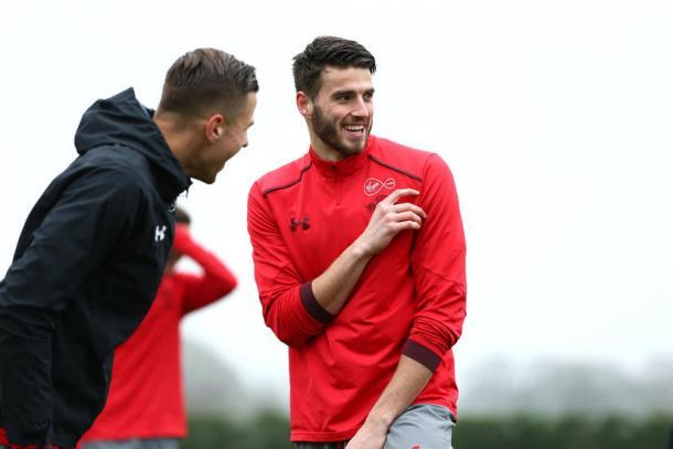 Wesley Hoedt regresó a los entrenamientos y podría estar ante Watford   Foto: Southampton.