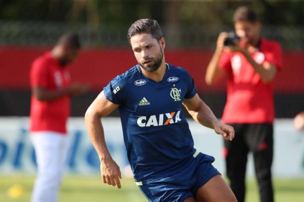 Diego pode retornar ao Flamengo no clássico (Foto: Gilvan de Souza/Flamengo)