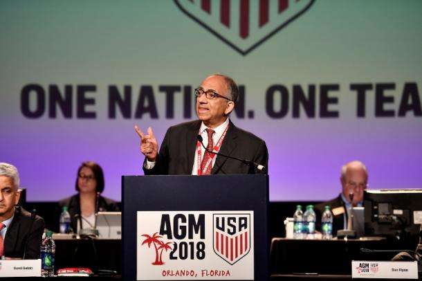 Carlos Cordeiro will now need a new CEO/Secretary General | Source: ussoccer.com