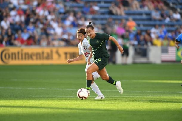 Australia found their footing in the second half | Source: ussoccer.com