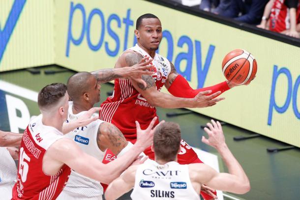 Jerrells Curtis, EA7 EMPORIO ARMANI OLIMPIA MILANO vs DOLOMITI ENERGIA TRENTINO, gara 1 Finale Play off Lega Basket Serie A 2017/2018, Mediolanum Forum, Assago (MI) 5 giugno 2018 - FOTO: Bertani/Ciamillo