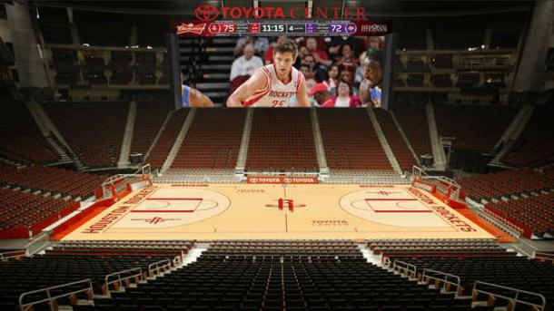 El Toyota Center, hogar de los Houston Rockets | Foto: NBA.com