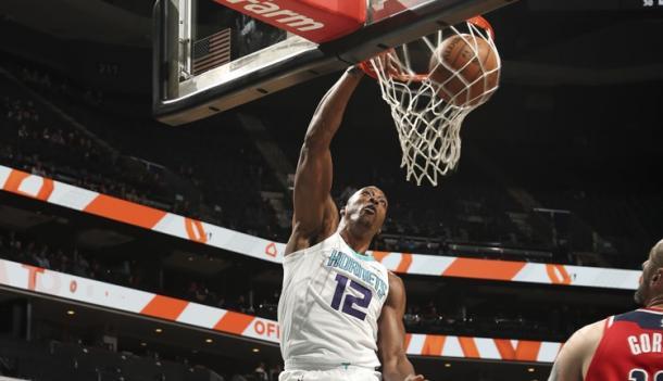 Howard ha sido una de las pocas buenas noticias en los Hornets | Foto: nba.com/hornets