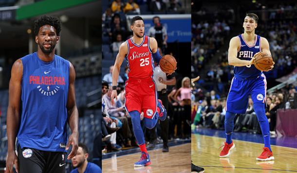 Los 76ers mandan en el 'Team World' | Foto: NBA.com