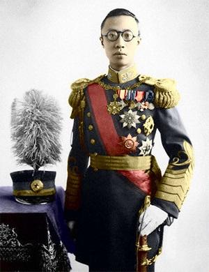 Pu yi, ultimo emperador de China coronado como emperador de Manchukuo   Foto: Wikicommons