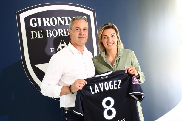 LAvogez has a chance to revive her career at Bordeaux | Source: girondins.com