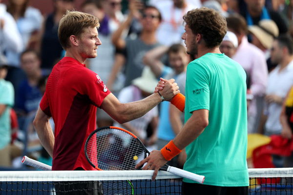 Goffin is now 8-1 since the start of the Western and Southern Open (Image source: Zimbio/Getty Images North America)