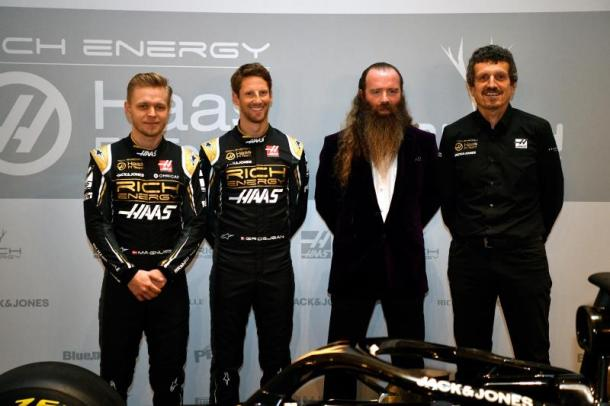 Haas rompe con Magnussen y Grosjean — Oficial
