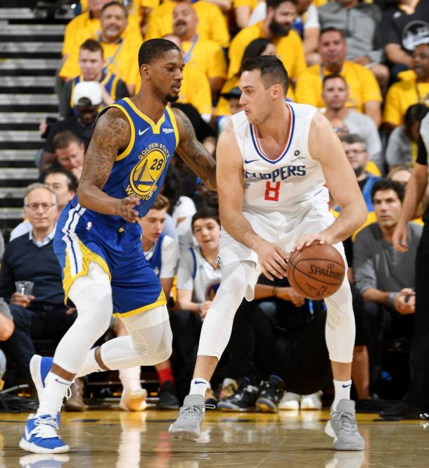Warriors perdió su segundo partido de local por playoffs. Foto: NBA