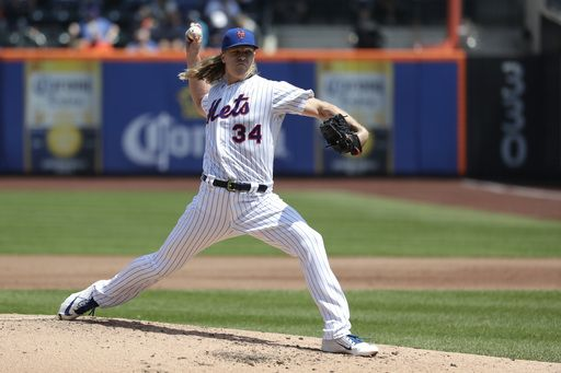 Two of Syndergaard's last three wins have been 1-0/Photo: Julio Cortez/Associated Press