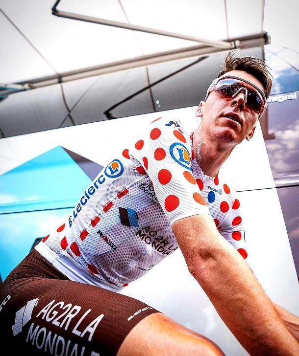 Bardet podría perder el maillot de la montaña en Val Thorens. | Foto: AG2R