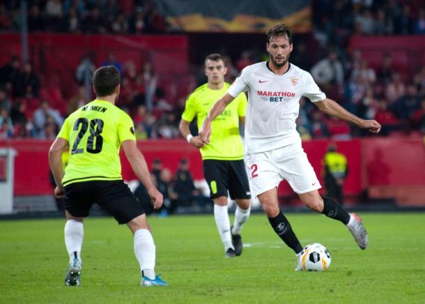 Franco Vázquez marcó los dos primeros goles | Foto: Sevila FC