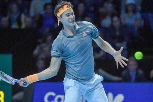 Thiem has beaten Federer and Djokovic en route to the final/Photo: John Walton
