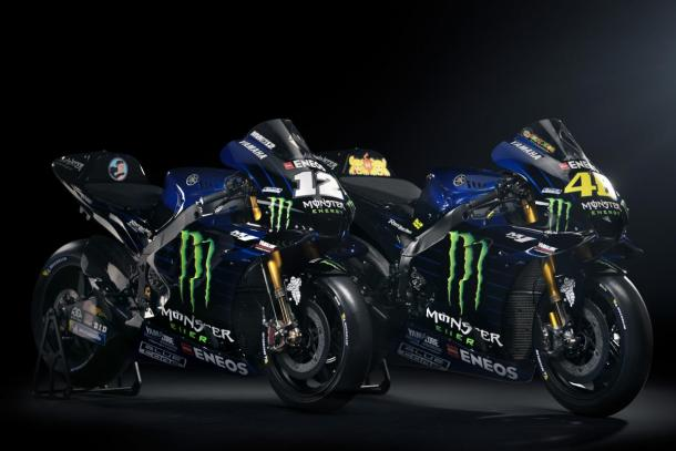 Equipo Monster Energy Yamaha. Foto:MotoGP.com