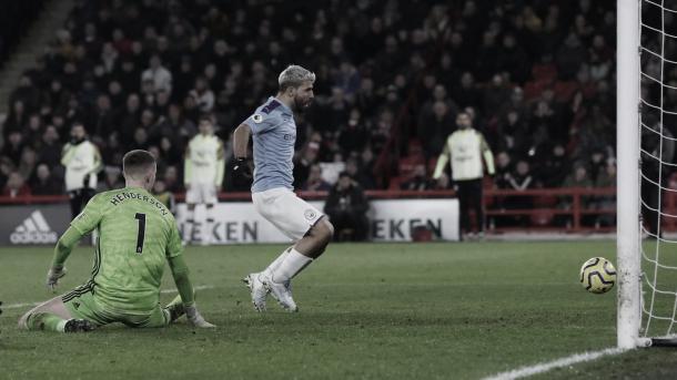 Agüero fue el héroe, una vez más, en la última jornada   Foto: Premier League