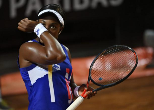 It was a tough night for Stephens/Photo: Riccardo Antimiani/Reuters
