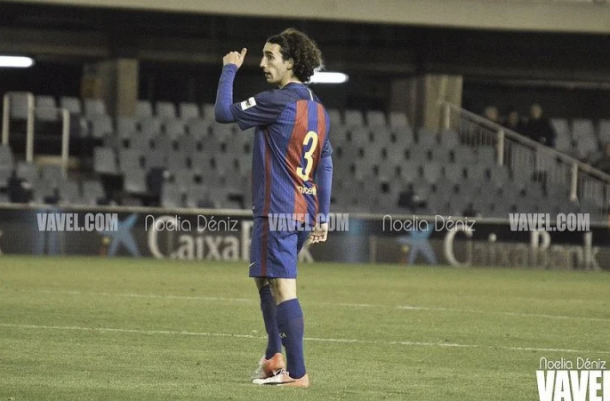 Marc Cucurella con el FC Barcelona. | Foto: Noelia Déniz VAVEL