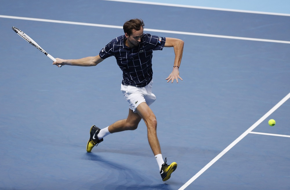 Medvedev was on point as he destroyed Djokovic