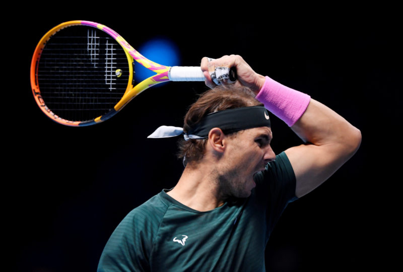 Nadal is serving brilliantly all week as he pursues a first title in London/Photo: Toby Melville/Reuters