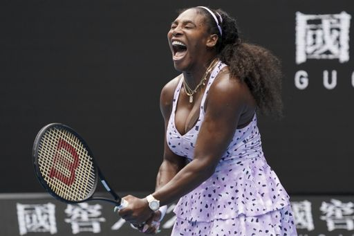 Williams showed the heart of a champion, fighting back to take the second set/Photo: Lee-Jin Man/Associated Press