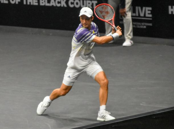 Soeda dropped just three games to advance to the final qualifying round/Photo: John Lupo/VAVEL USA