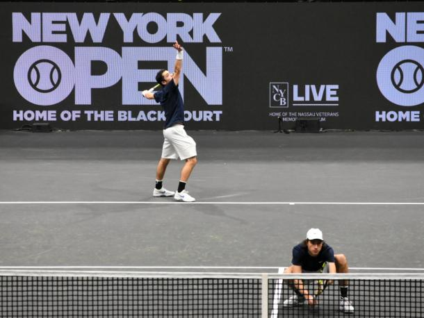 Jackson (l.) and Kovalenko played in front of a supportive local crowd/Photo: John Lupo/VAVEL USA