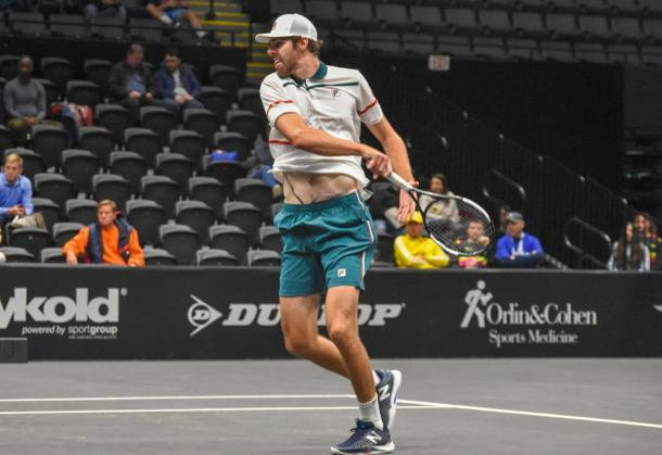 Opelka played a solid opening match to extend his winning streak on Long Island to six/Photo: John Lupo/VAVEL USA