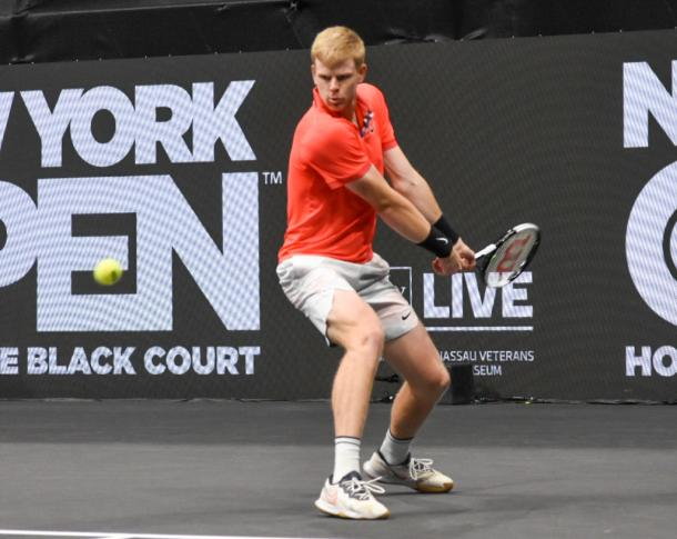 Edmund dominated for the majority of the match, winning eight if the last nine games/Photo: John Lupo/VAVEL USA