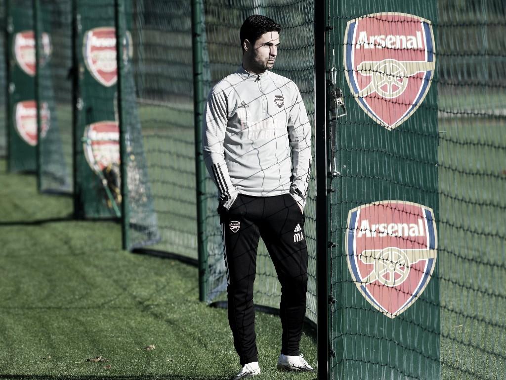 Mikel Arteta confía en ser el nuevo Wenger | Foto: Arsenal