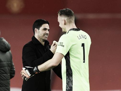 Arteta eligió a Leno sobre Martínez | Foto: Arsenal