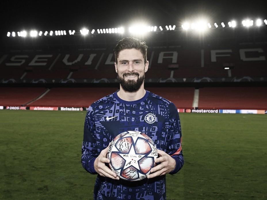 Giroud se llevó el balón con sus 4 goles | Foto: UEFA