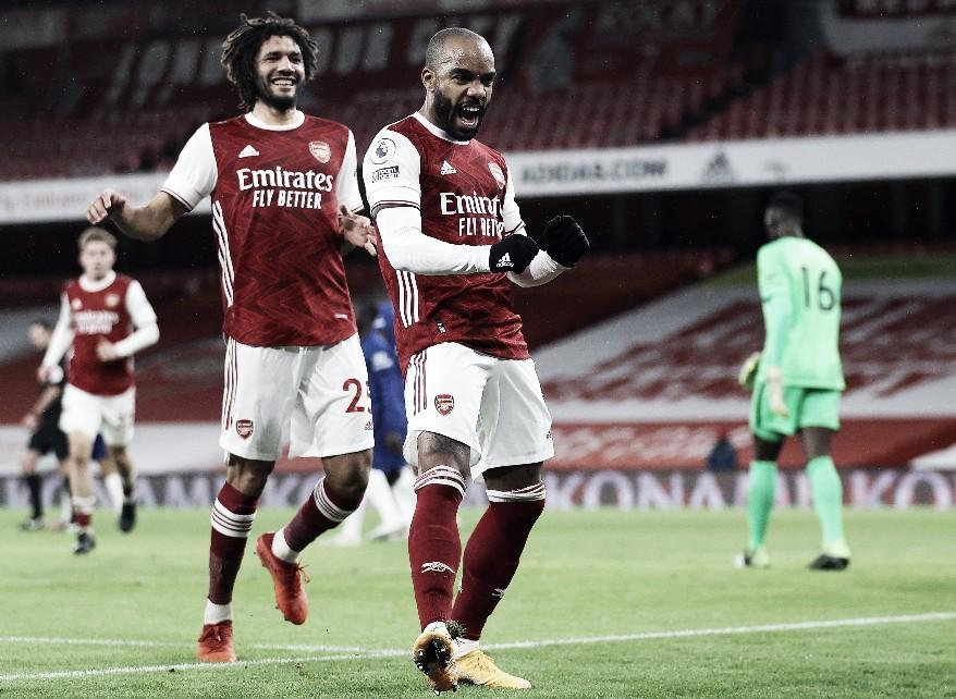 Lacazette fue una de las figuras en el triunfo del Arsenal   Foto: Arsenal