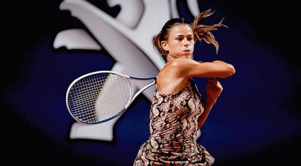 Giorgi is in good form, having reached the semifinals in Palermo last week/Photo: WTA