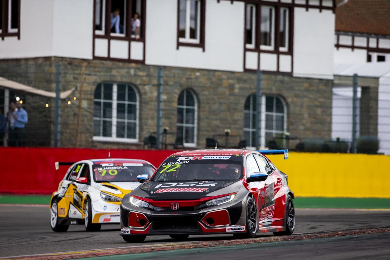 Girolami en el Honda Civic de PSS Racing Team: Foto European TCR Series