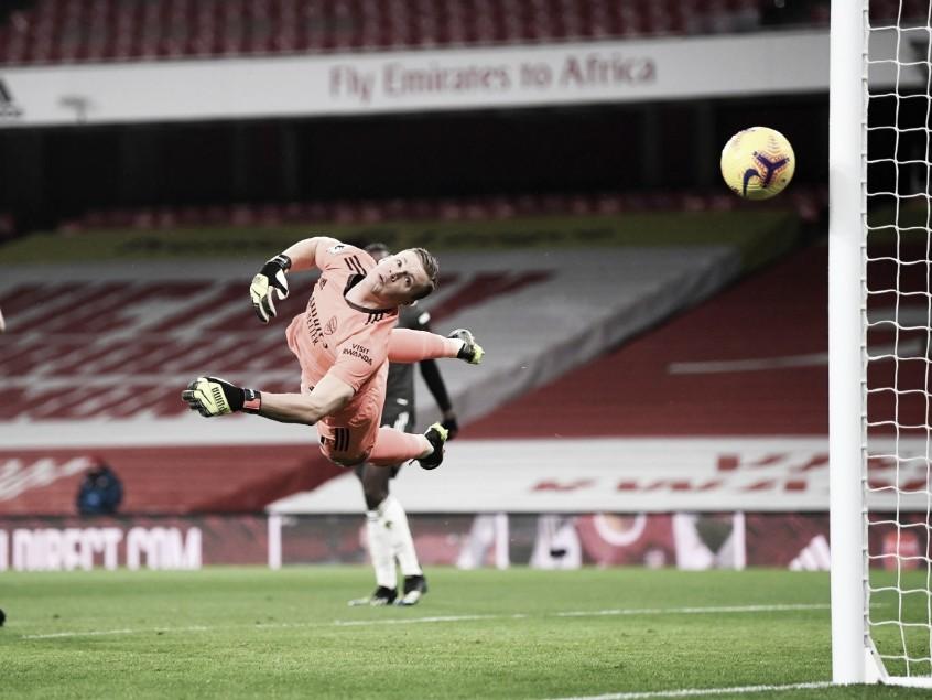 Leno fue fundamental para el empate | Foto: Arsenal