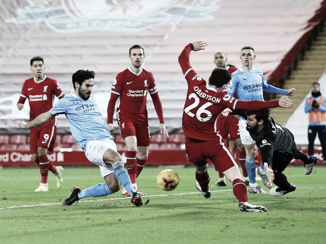 Ilkay Gündogan continúa en su gran nivel | Foto: Premier League